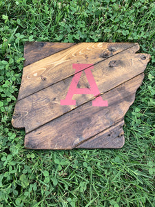 "Dark Rustic ""A"" Arkansas"