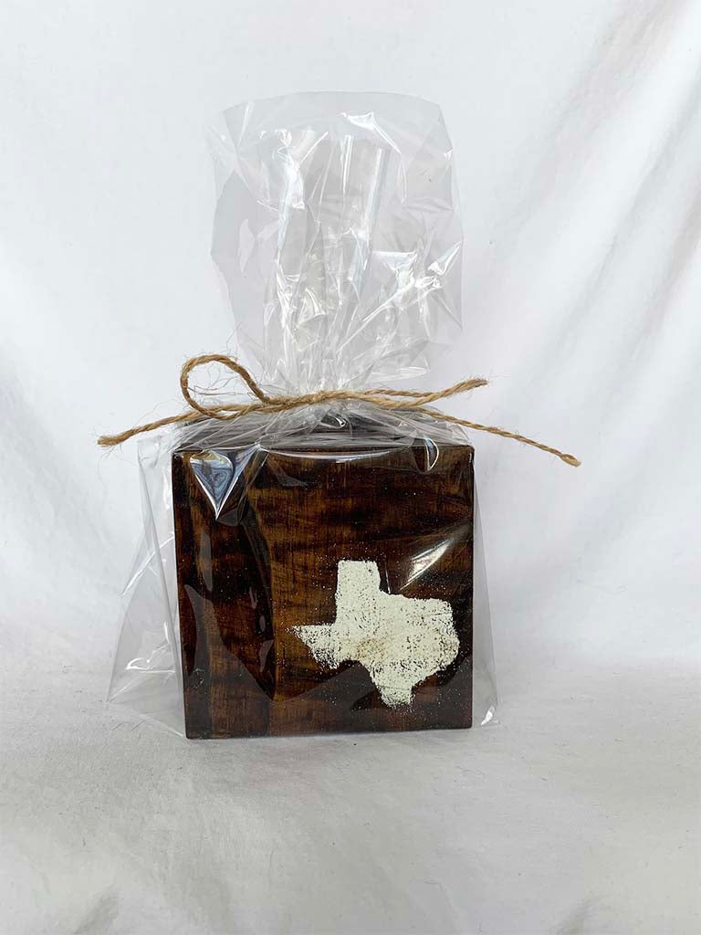 Dark State of Texas Coasters- Set of 4