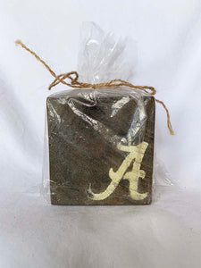 Dark Alabama Coasters- Set of 4
