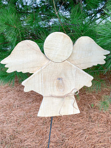 Outdoor Wooden Hanging Angel