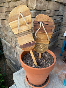 Outdoor Natural Flip Flops