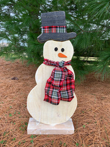 Outdoor Large Freestanding Snow Man