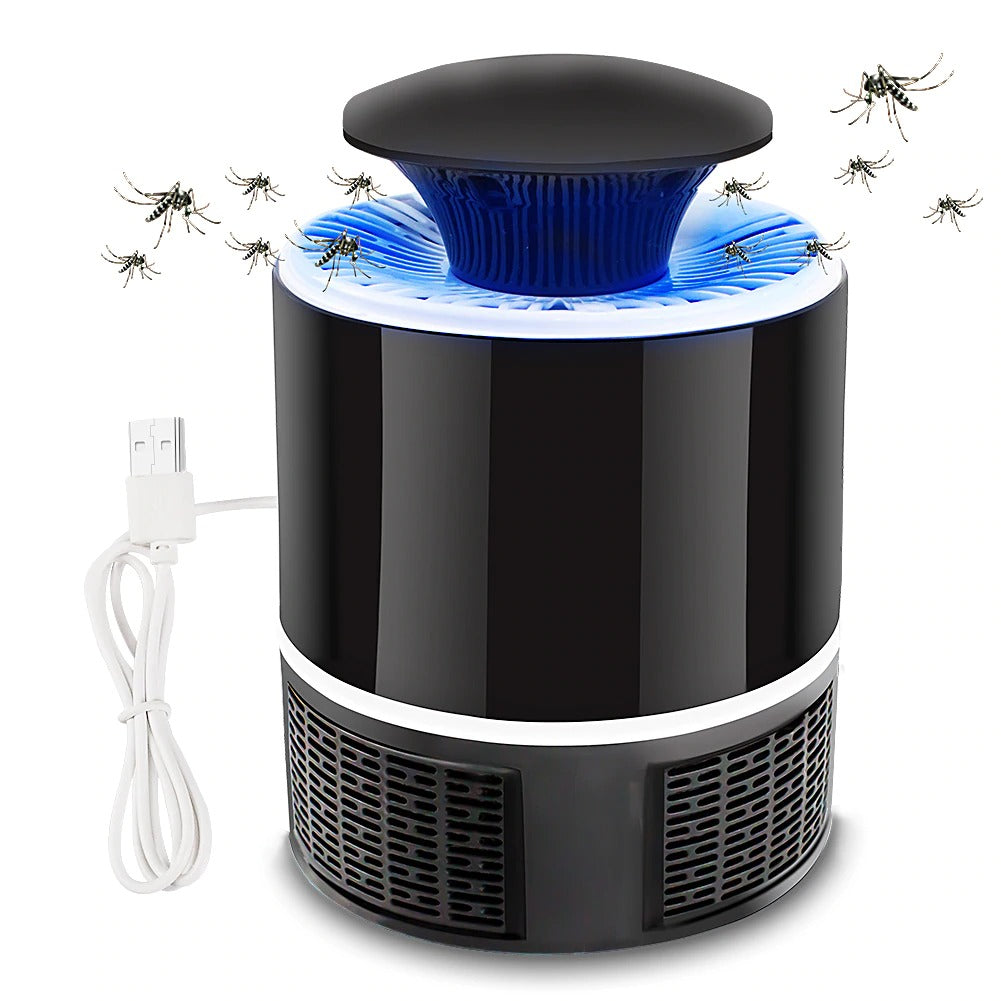 HeySummer™ USB Powered Mosquito killer trap  [QUIET + NON-TOXIC]