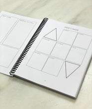 Load image into Gallery viewer, Recovery Planner Small (spiral bound)