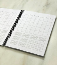 Load image into Gallery viewer, Recovery Planner Large (spiral bound)
