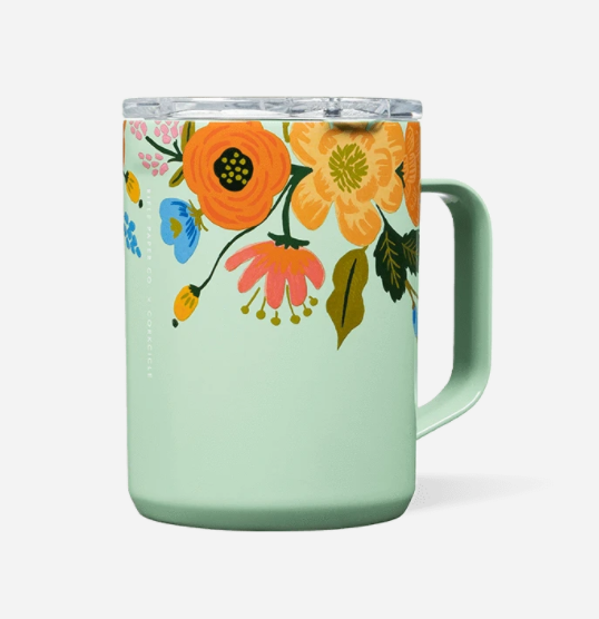 COFFEE MUG LIVELY FLORAL