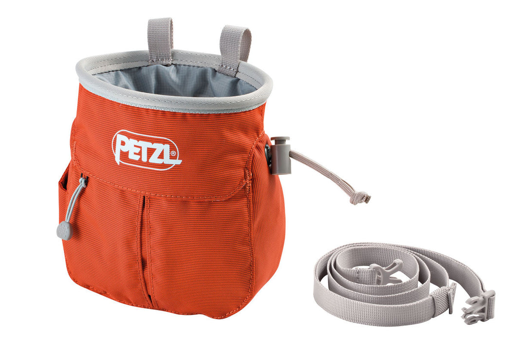 Petzl SAKAPOCHE Chalk Bag Orange (v18)
