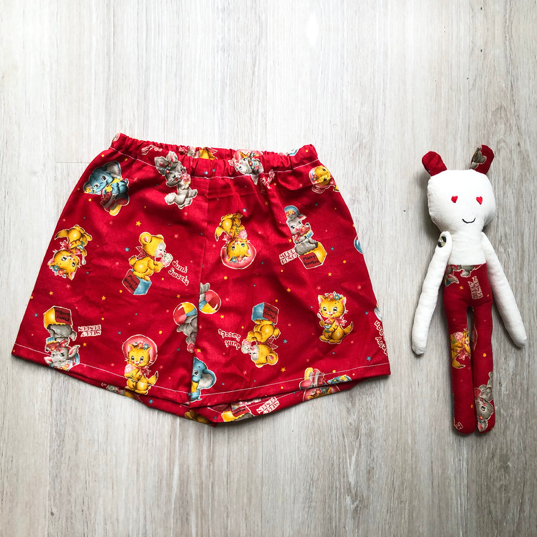 Me and Mini - Matching Teddy and Short Set Merry Bon Bon 12 - 18 months