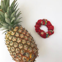 Load image into Gallery viewer, Red Cotton Scrunchie