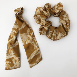 DIY Silk Print Scrunchie with Tie Kit