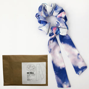 DIY Silky Scrunchie with Tie Kit