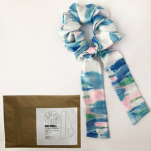 Load image into Gallery viewer, DIY Multi Silky Scrunchie with Tie Kit
