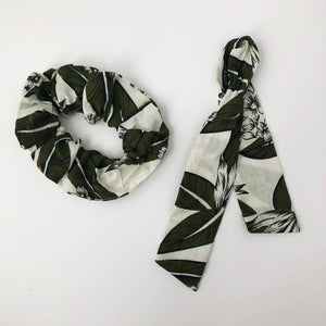 DIY Cotton Print Scrunchie with Tie Kit