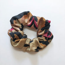 Load image into Gallery viewer, Animal Print Silky Scrunchie