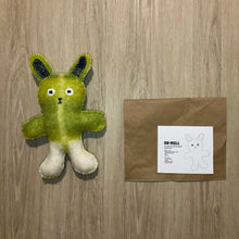 Load image into Gallery viewer, DIY Recycled Blanket Teddy Kit - Green