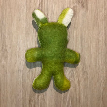 Load image into Gallery viewer, Recycled Blanket Teddy - Green