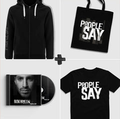 """People Say"" Ultimate CD Album Merch Bundle"