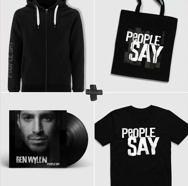 """People Say"" Ultimate Vinyl LP Merch Bundle"
