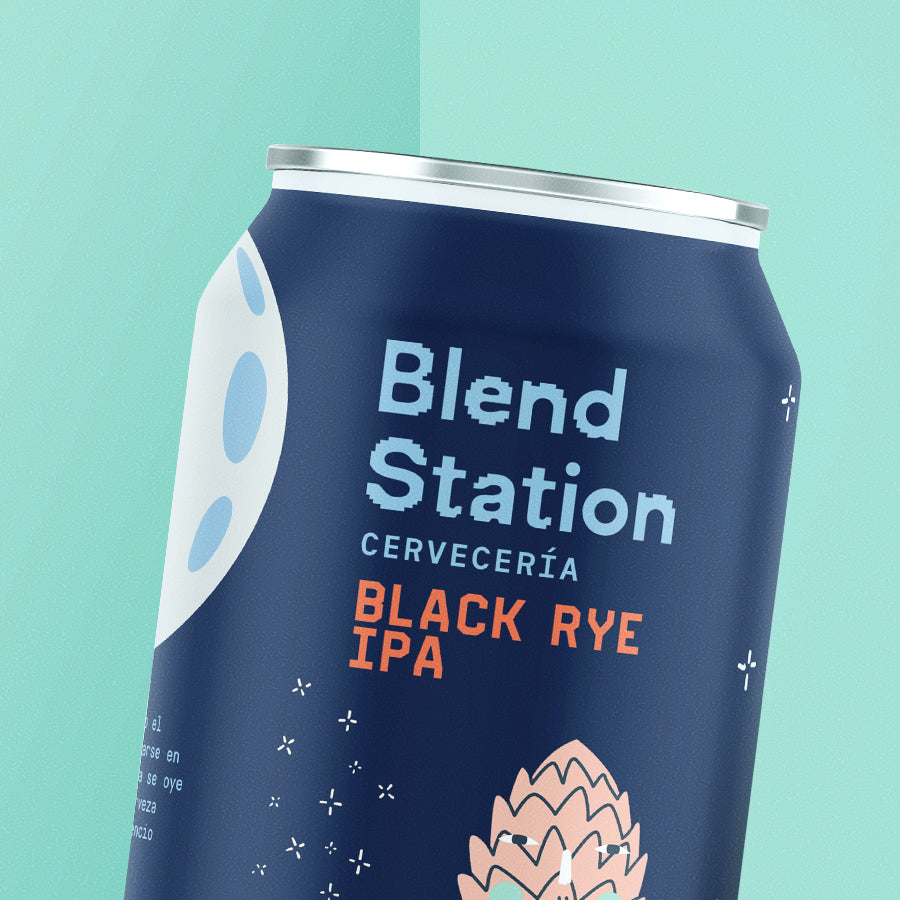 CERVEZA BLACK EYE IPA · Six Pack · Blend Station