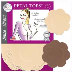 Petal Tops Nipple Covers by Braza 5 prs.