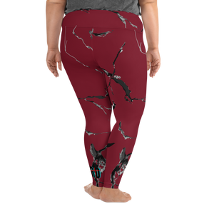 STRD Marble Plus Size Leggings