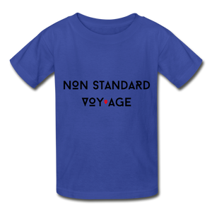 Kids Signature Tshirt - royal blue