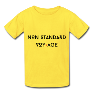 Kids Signature Tshirt - yellow