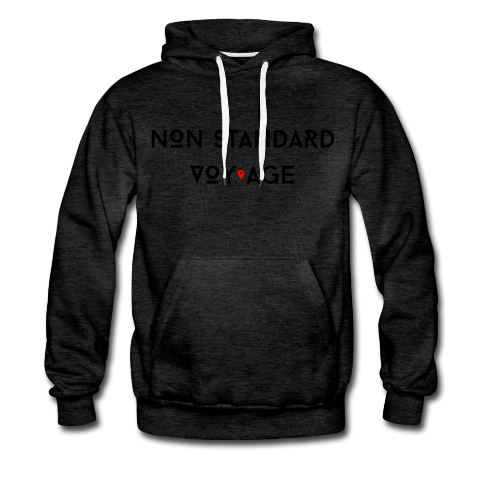 Signature Logo Hoodie - charcoal gray
