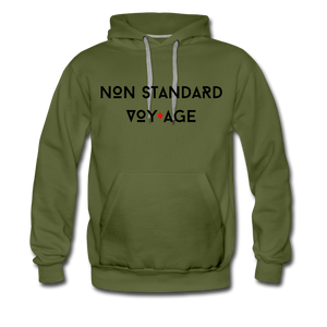 Signature Logo Hoodie - olive green