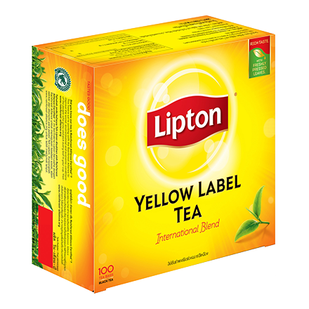 SnacksToGo Singapore delivery of Liptons Yellow Label Tea Individually Pack (2g)