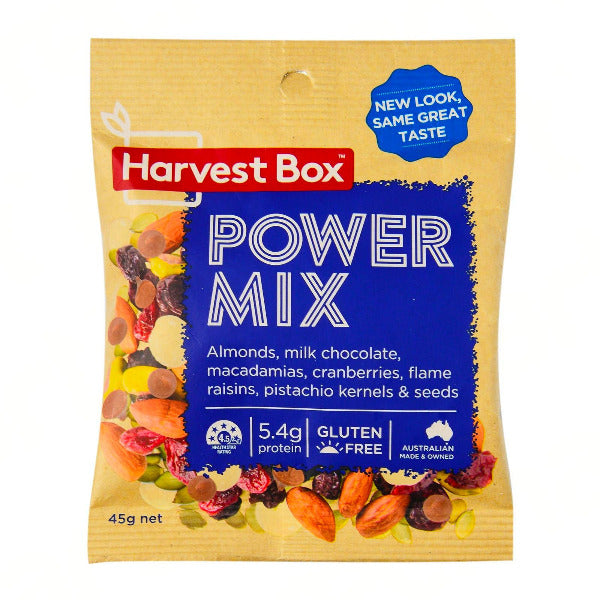 SnacksToGo Singapore delivery of Harvest Box Power Mix (45g)