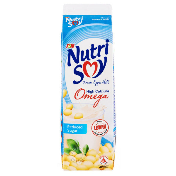 SnacksToGo Singapore delivery of F&N Nutrisoy Soy Milk Reduced Sugar (1litre)