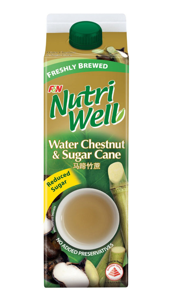 SnacksToGo Singapore delivery of F&N Nutriwell Water Chestnut and Sugar Cane (1litre)