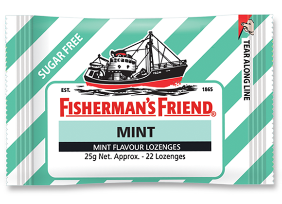 SnacksToGo Singapore delivery of Fisherman Friends Sugar Free Mint (25g)