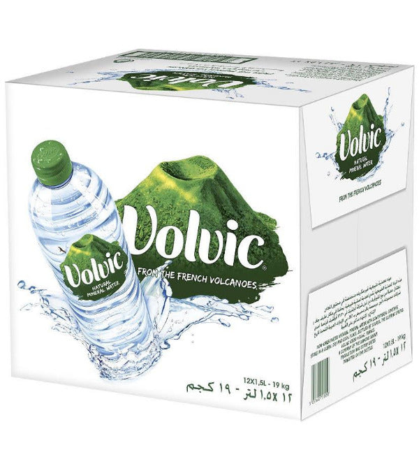SnacksToGo Singapore delivery of Volvic Mineral Water PET (1.5litre)