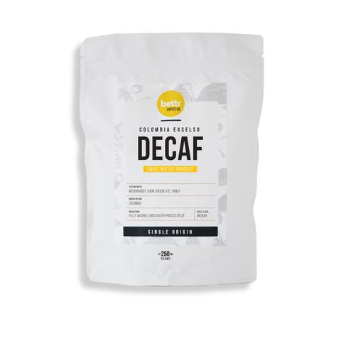 Colombia decaf white sachet Bettr
