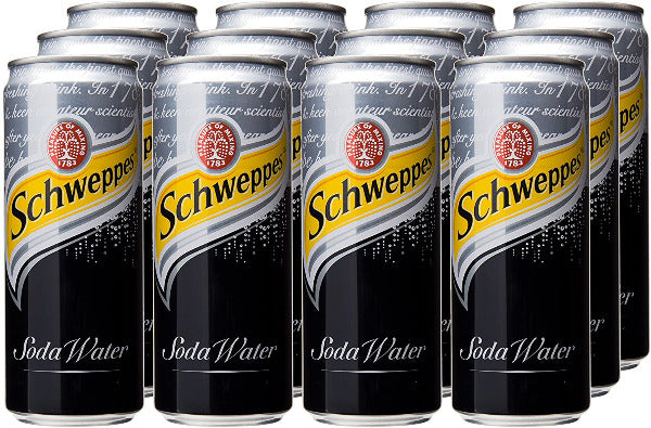 SnacksToGo Singapore delivery of Schweppes Soda Water (320ml)