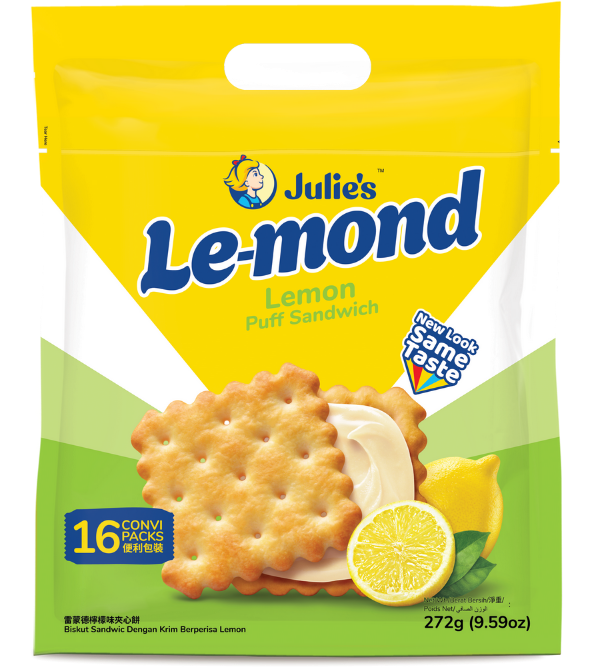 SnacksToGo Singapore delivery of Julie's Le-Mond Puff Sandwich (17g)
