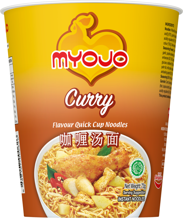 SnacksToGo Singapore delivery of Myojo Quick Cup Noodle Curry (73gm)