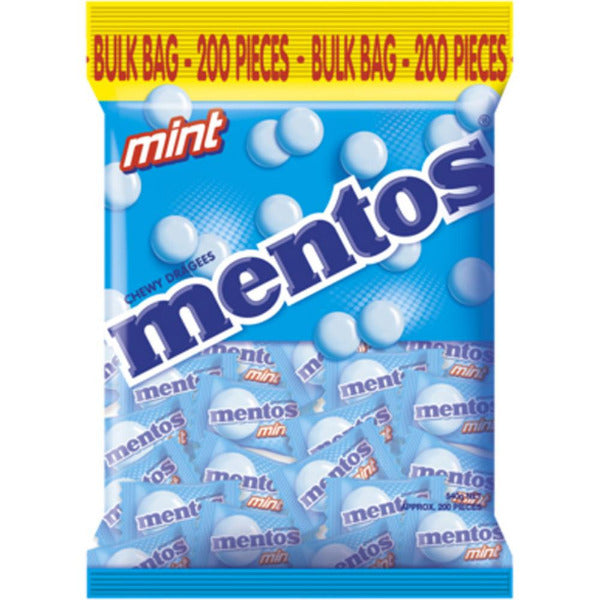 SnacksToGo Singapore delivery of Mentos Pillowpack Mint (540g)