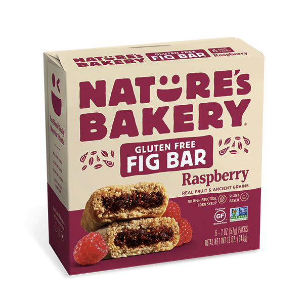 SnacksToGo Singapore delivery of Nature's Bakery GF Raspberry Fig Bar (2oz)