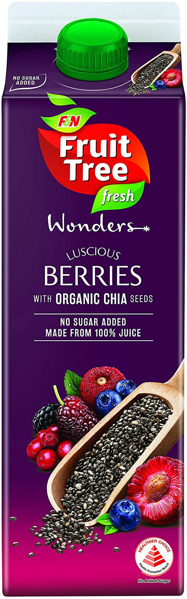 SnacksToGo Singapore delivery of F&N Fruit Tree Berries With Chia NAS (1litre)