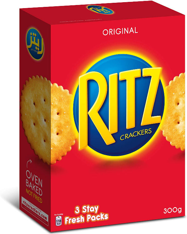 SnacksToGo Singapore delivery of Ritz Crackers (300g)