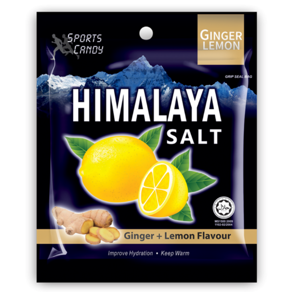 SnacksToGo Singapore delivery of Himalayan Ginger and Lemon Candy Salt (15g)