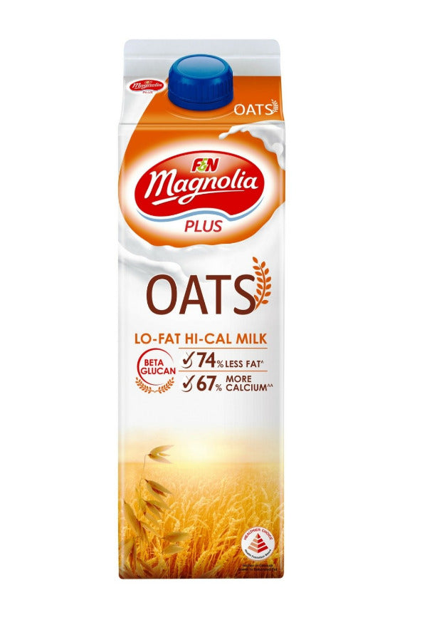 SnacksToGo Singapore delivery of F&N Magnolia Plus Milk With Oats (1litre)