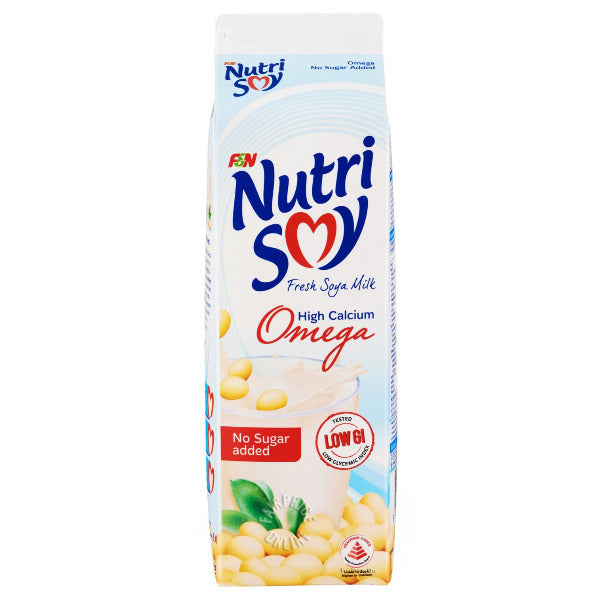 SnacksToGo Singapore delivery of Nutrisoy Omega No Added Sugar (1litre)