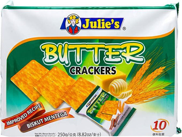 SnacksToGo Singapore delivery of Julie's Butter Crackers (250g)
