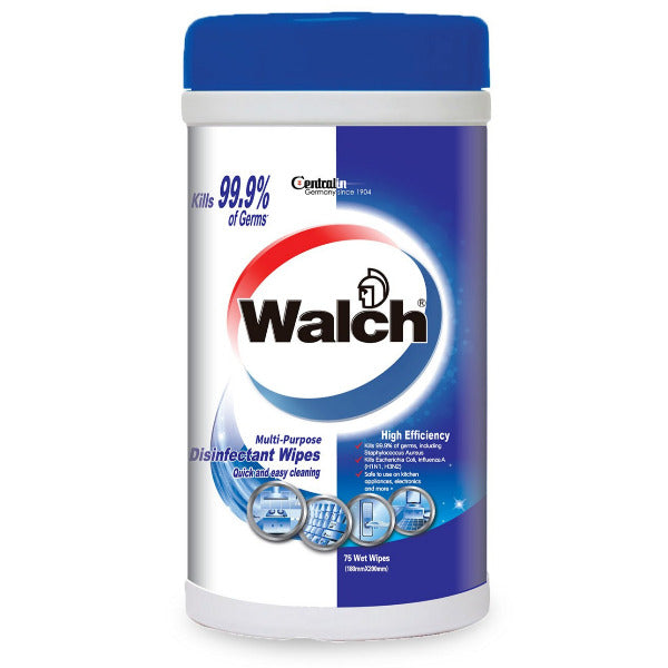 SnacksToGo Singapore delivery of Walch Multipurpose Disinfectant Wipes High Efficiency