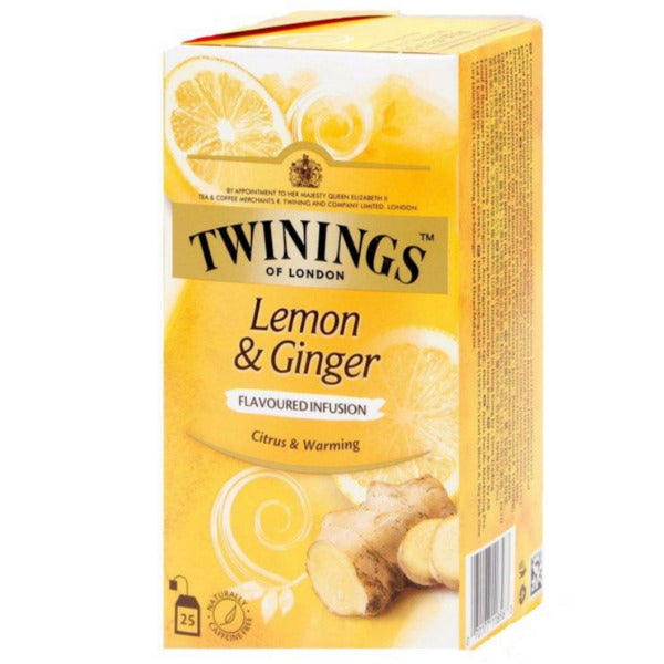 SnacksToGo Singapore delivery of Twinings Lemon and Ginger (2g)