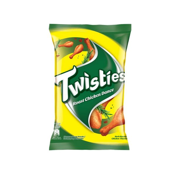 SnacksToGo Singapore delivery of Twisties Chicken Chips 8's (15g)